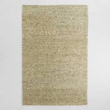 gray moroccan jute boucle emy area rug world market