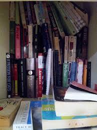 shelfies of shame reading in bed