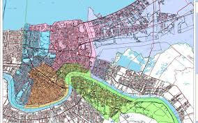City Map Of New Orleans by Redrawn Borders Nola Defender