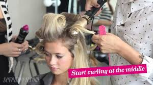 pageant curls hair cruellers versus curling iron how to get big bouncy hair youtube