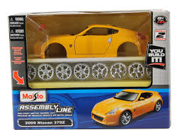 opel nissan maisto diecast assembly line model kits 1 24 scale cars