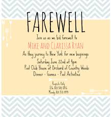 farewell invitation for teachers cloveranddot com