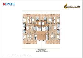grand connaught rooms floor plan omaxe celestia royal