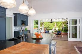 kitchen french doors terraced small kitchen with french doors and