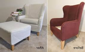 Slipcover For Oversized Chair And Ottoman by Oversized Armless Chair Slipcover Dining Chair Covers Oversized