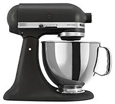 black tie stand mixer amazon com kitchenaid ksm150psbk artisan series 5 qt stand mixer
