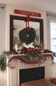 grapevine garland decorating ideas and ornament mantel