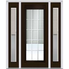 mmi door 64 in x 80 in internal blinds and grilles right hand