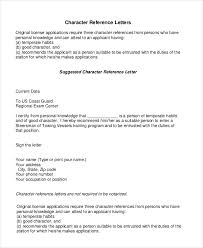 Sample Resume Character Reference by Personal Reference Letter Character Reference Letter For Student