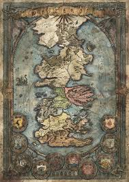 Map Westeros Westeros Map Game Of Thrones By Francescabaerald On Deviantart