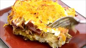 breakfast bake biscuits u0026 hash browns the starving chef youtube