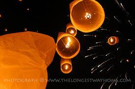 fireworks lantern what s the yee peng lantern festival in chiang mai like