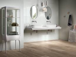 Wood Floors In Bathroom by Wood Tile Flooring Deck