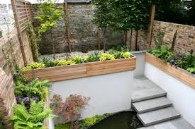 Ideas For Small Gardens by Contemporary Garden Design Ideas For Small Gardens The Garden