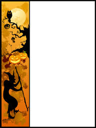 halloween background outlines halloween page border free download clip art free clip art