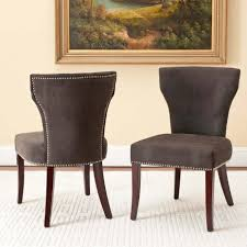 modern upholstered parsons chairs dining room furniture