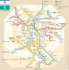 A Train Map Paris Metro Map Paris Digest Map Of Paris Quarters New Zone