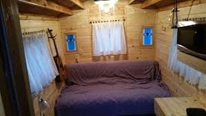 Pine Interior Walls Camper Vardo 7 Steps With Pictures