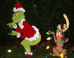 grinch yard outdoor decorations by wileyconcepts