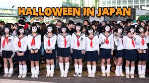 halloween in japan tokyo costume street party 渋谷 ハロウィン