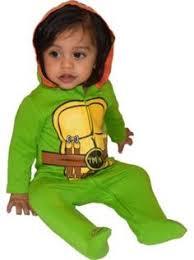 Monster Halloween Costume Kids Child 5 6 Teenage Mutant Ninja Turtle Fancy Dress