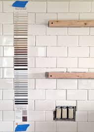 subway tile installation tips on grouting with fusion pro tile