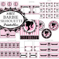 free vintage barbie party printables printabelle catch party