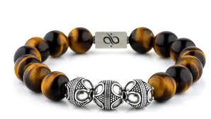 bracelet beaded images Premium silver tiger eye aurum brothers jpg