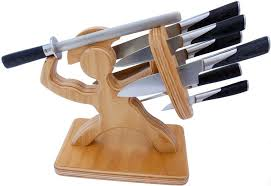 kitchen knives holder sparta knife block dudeiwantthat