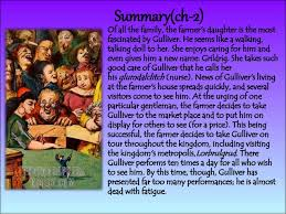 gullivers travel summary chapter wise