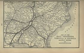 Map Of Georgia And Tennessee by File 1893 Poor U0027s East Tennessee Virginia And Georgia Railway Jpg