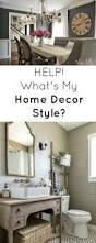 rustic refined home decor style