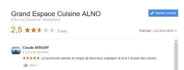 espace cuisine vendenheim cuisine alno avis reveu lovely cuisine alno avis maison design