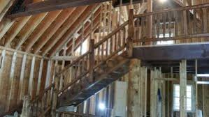 log staircases porches railings and gated entrances log home