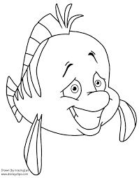 mermaid coloring pages disney coloring book