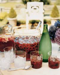 outdoor party drinks and appetizers martha stewart