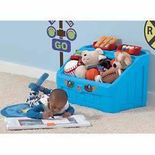 Step2 Lift Hide Bookcase Storage Chest Blue Step 2 Toy Box Ebay