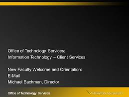 towson peoplesoft office of technology services office of technology services