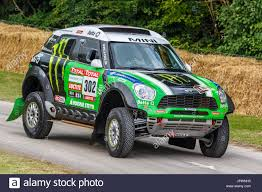 bmw rally car 2017 bmw mini countryman r60 dakar rally car with driver mikko