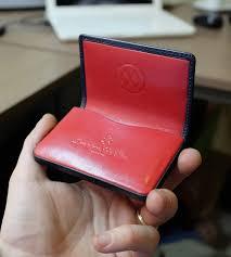 Embossed Business Card Holder 173 Best Leathergoods Images On Pinterest Saints Colour And Blog