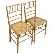 bamboo chair pair of gilt faux bamboo chairs georgian antiques
