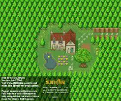 secret map of mana neko s nintendo snes background map