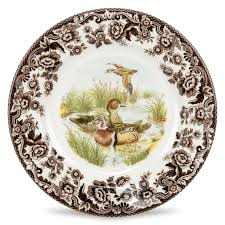 spode woodland dinner plate wood duck 10 5 inch spode uk