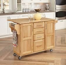 home styles kitchen islands home styles kitchen island 52 5 in rolling wood top