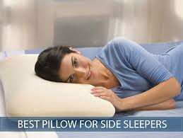 bed pillows for side sleepers 8 best pillows for side sleepers in 2018 reviews and buyer s guide