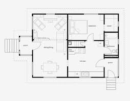 house plan with furniture