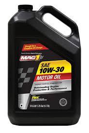 amazon com mag 1 62939 sae 10w 30 motor oil 5 quart jug automotive