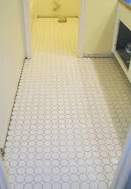 Hexagon Tile Bathroom Floor by Hexagon Whitewhite Octagon Tile Flooring White Floor With Black