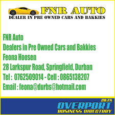 Email Business Directory by Fnr Auto Dealers In Pre Owned Cars And Overport Co Za