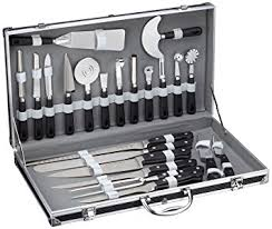 valise cuisine pradel excellence 31123 valise cuisinier 22 pièces 15 ustensiles